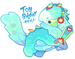 [CLOSED AND RAFFLING] Toy Soldier Gachagoop
