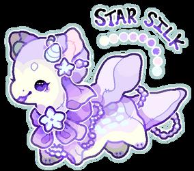 *Plush Dragon Flatsale* Star Silk by moonbeani