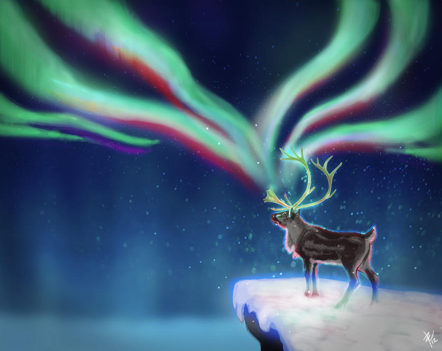 Magical reindeer