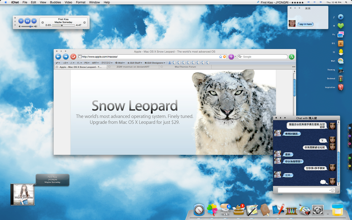 Buy Apple Mac OS X 106 Snow Leopard and Download