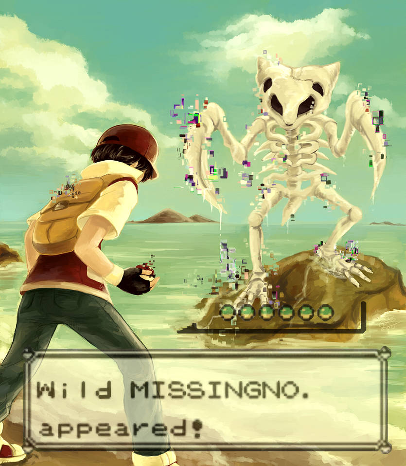 GA-HQ Art Contest - Wild MISSINGNO. appeared! by omurizer