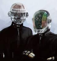Daft Robots by omurizer