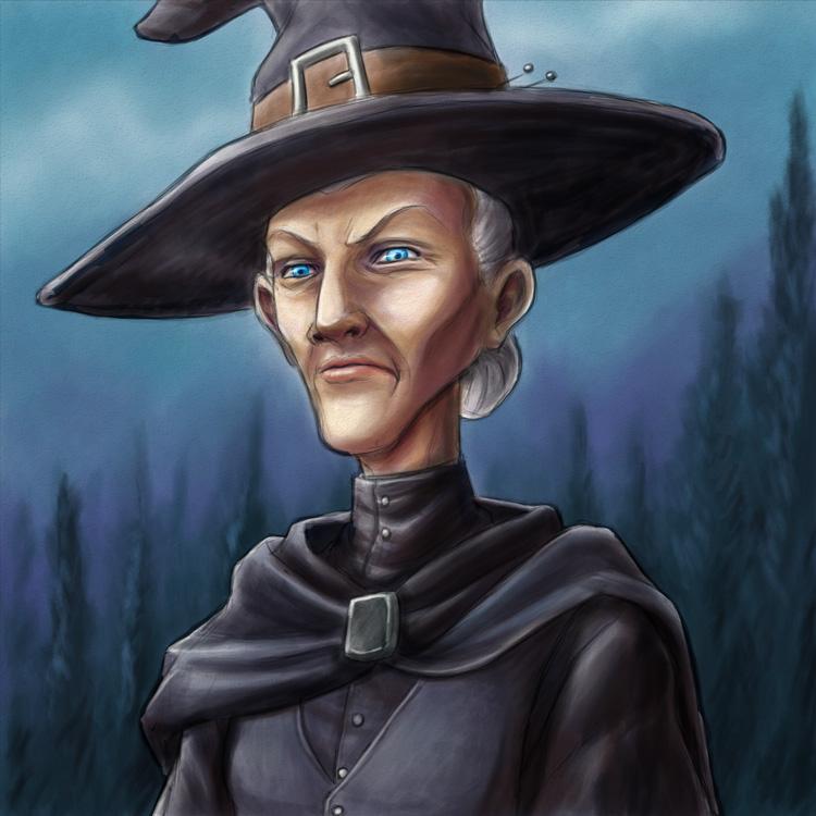 Granny Weatherwax by DionysiaJones