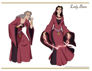 Lady Bane redesigns