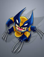Stitch AKA Wolverine by Nanaki-angel23