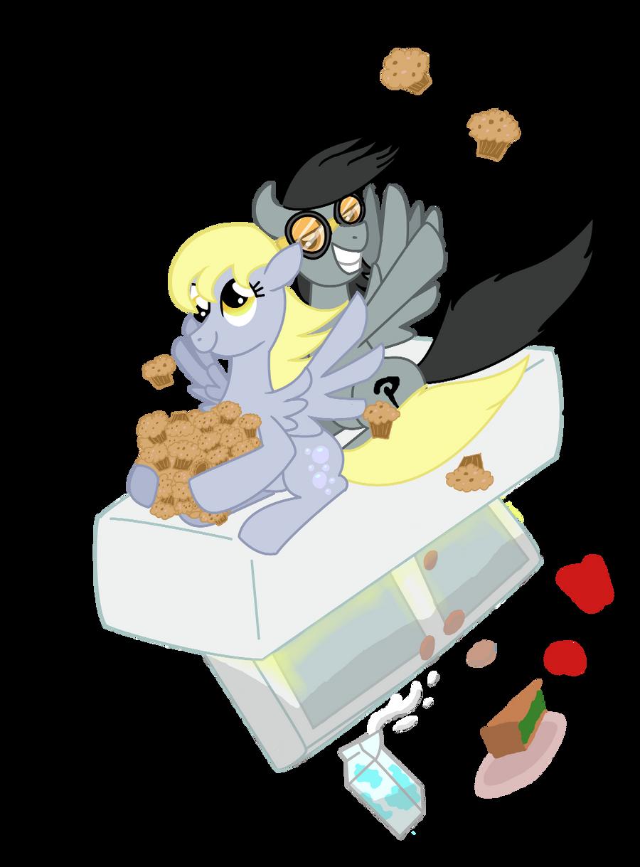 Muffin Heist by bibliodragon