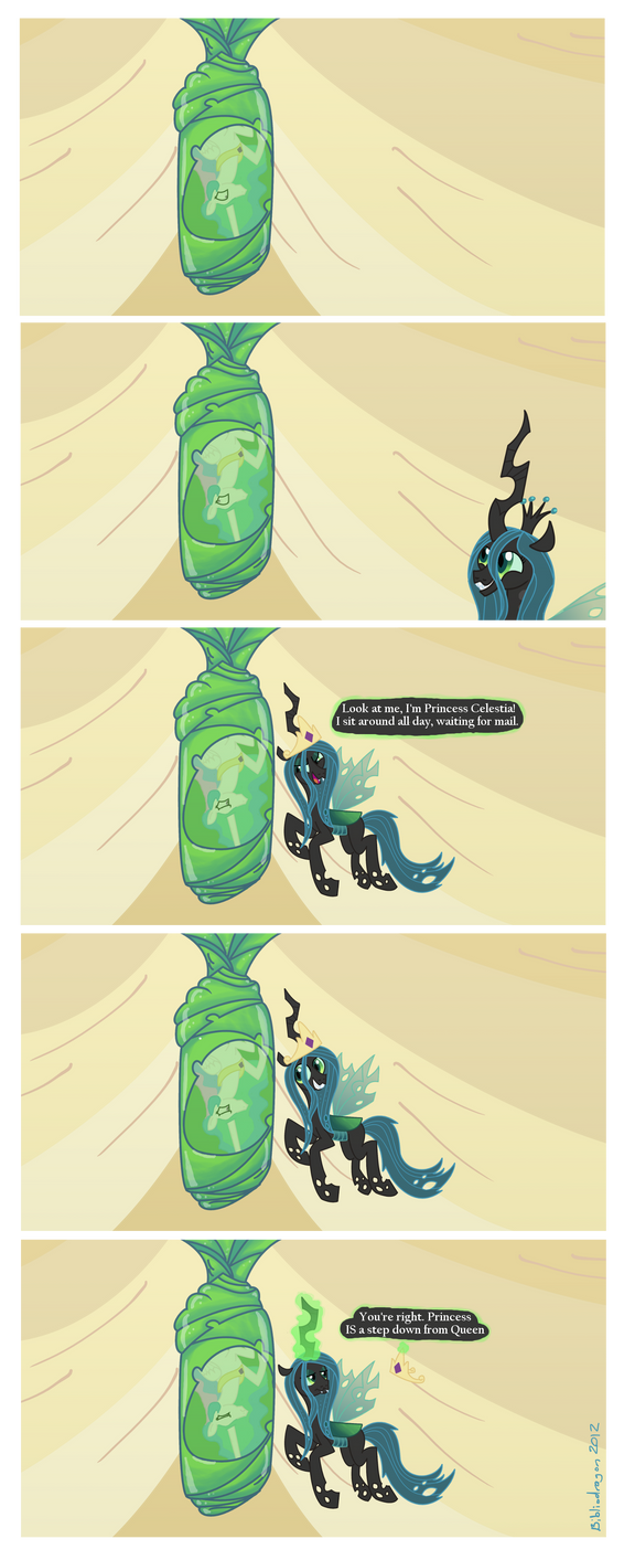 Princess Chrysalis by bibliodragon