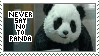 Never Say No To Panda stamp by Pandabeer1337