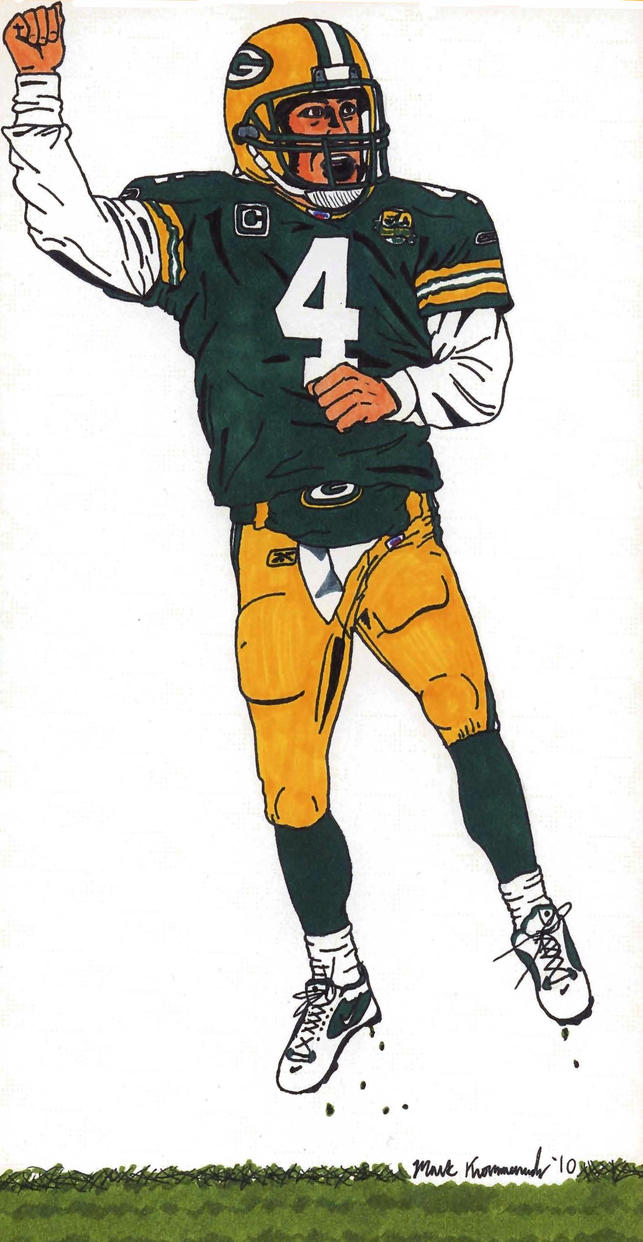 This is an image of Clever Green Bay Packers Drawing