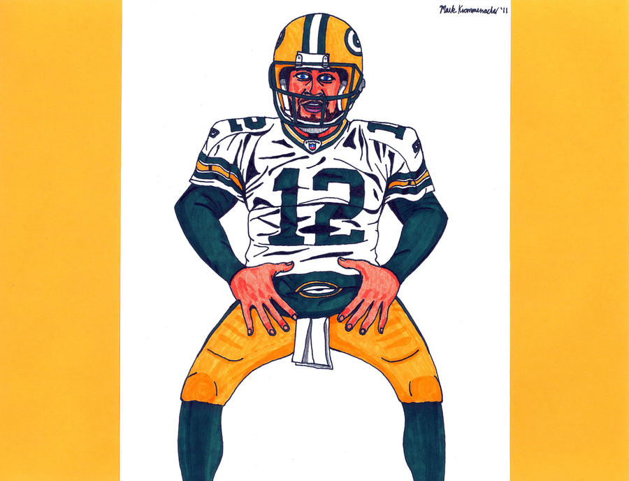 Aaron Rodgers Champ Belt By Mkrom10