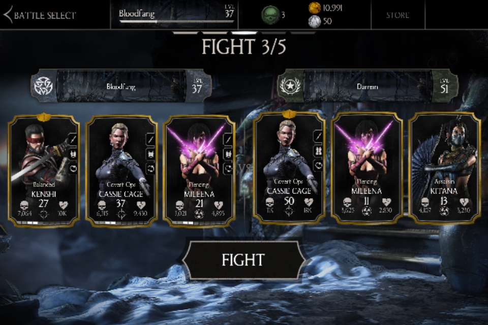 MKX Mobile Daily: DREAM TEAM  by HerMajestyYoungblood on