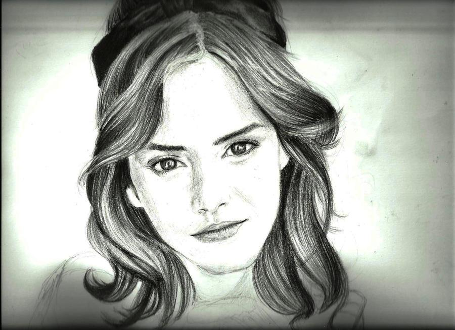 Emma watson hermione granger portrait by neeshma