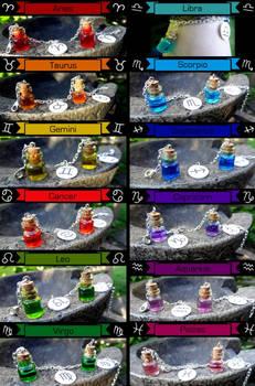 Zodiac Color Bracelets