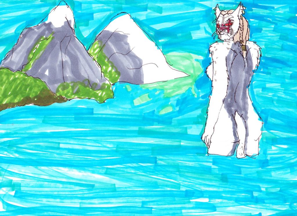 the waterof Skyrim by jak-woman