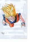 Goku super sayajin 3