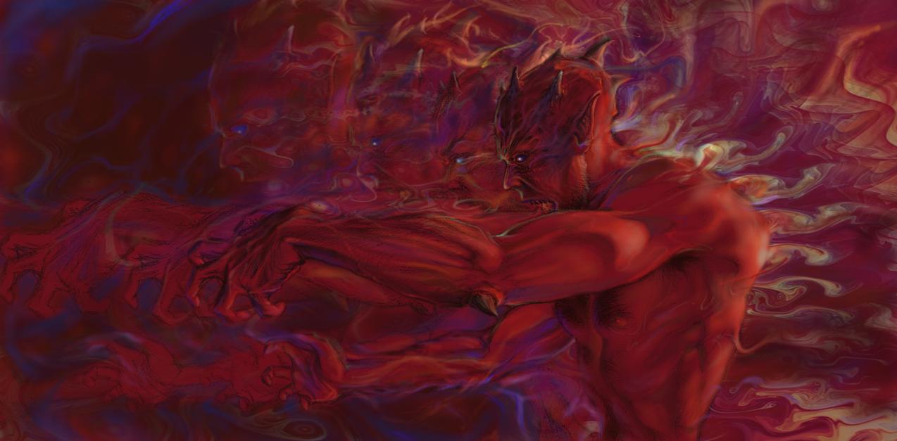 Demon of desire by DaawwW