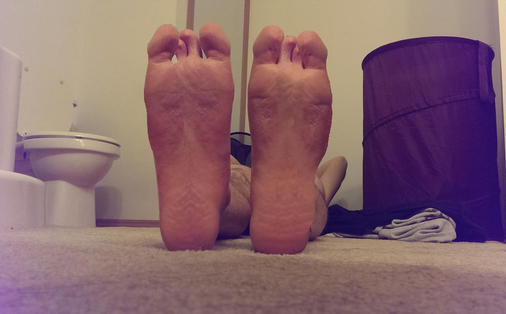 Working Man's Feet by footlover527