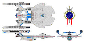 Battleship Andromeda class refit