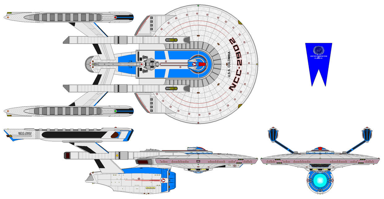 USS Columbia NCC 2902