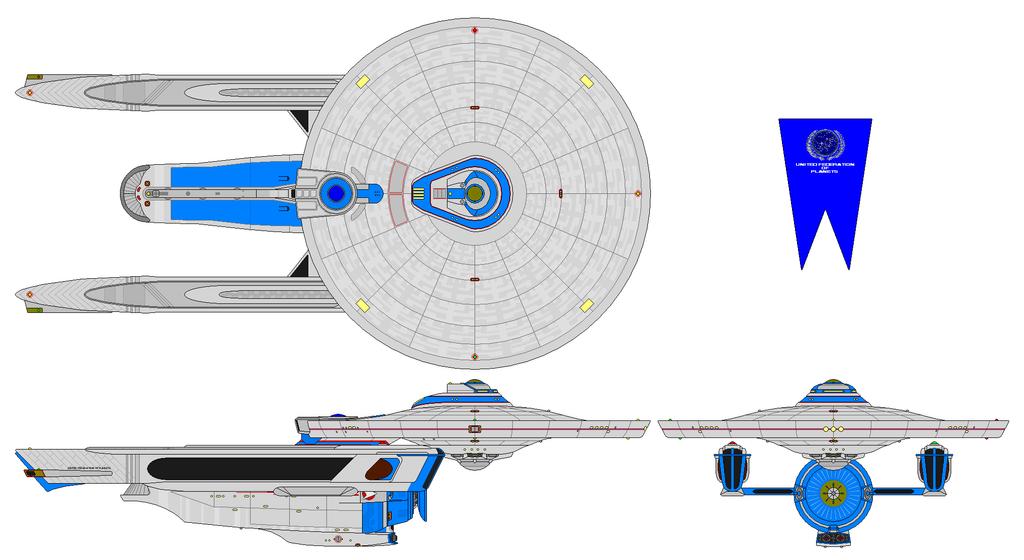 USS Baltimore Refit by nichodo