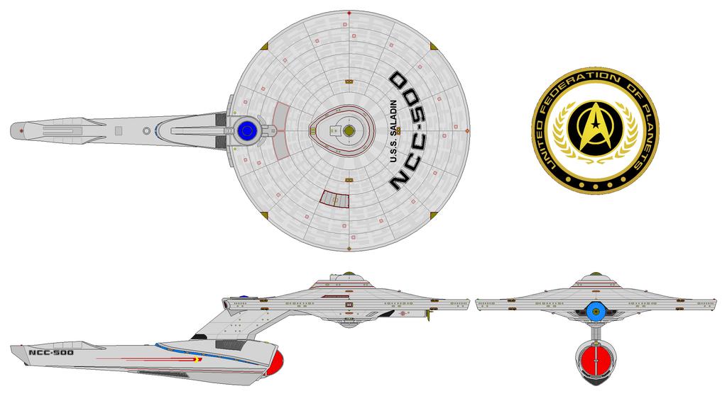 USS Saladin AU by nichodo