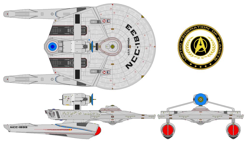 USS Miranda AU by nichodo
