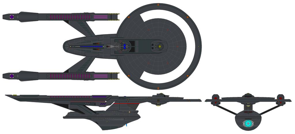 USS Vengeance Battlecruiser by nichodo