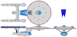 Andromeda class Heavy cruiser by nichodo