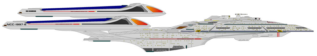 USS Highwind NCC 1997 E Dreadnought