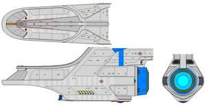 Modified Churchill secondary hull