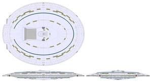 Frontier class saucer