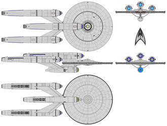 Constellation Class (KT) (Dreadnought) by nichodo