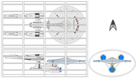 KT Drydock USS Enterprise NCC-1701 (KT) by nichodo
