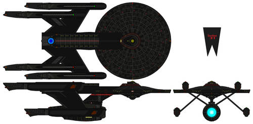 Section 31 Ship (ST Yamato) by nichodo