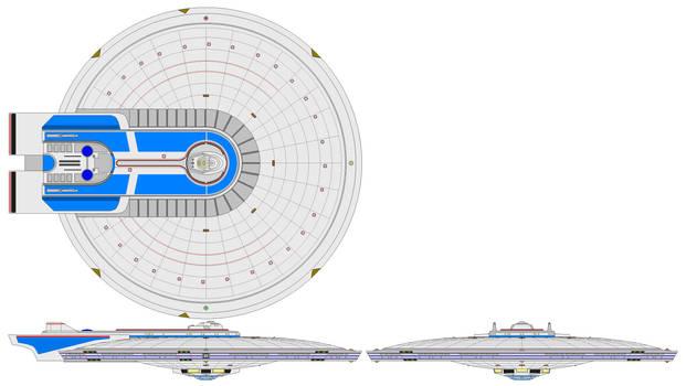 Excelsior Saucer (Disco-size) (Variant)