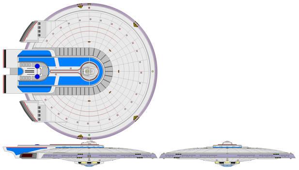 Excelsior Saucer (Disco-size) (Variant 2)
