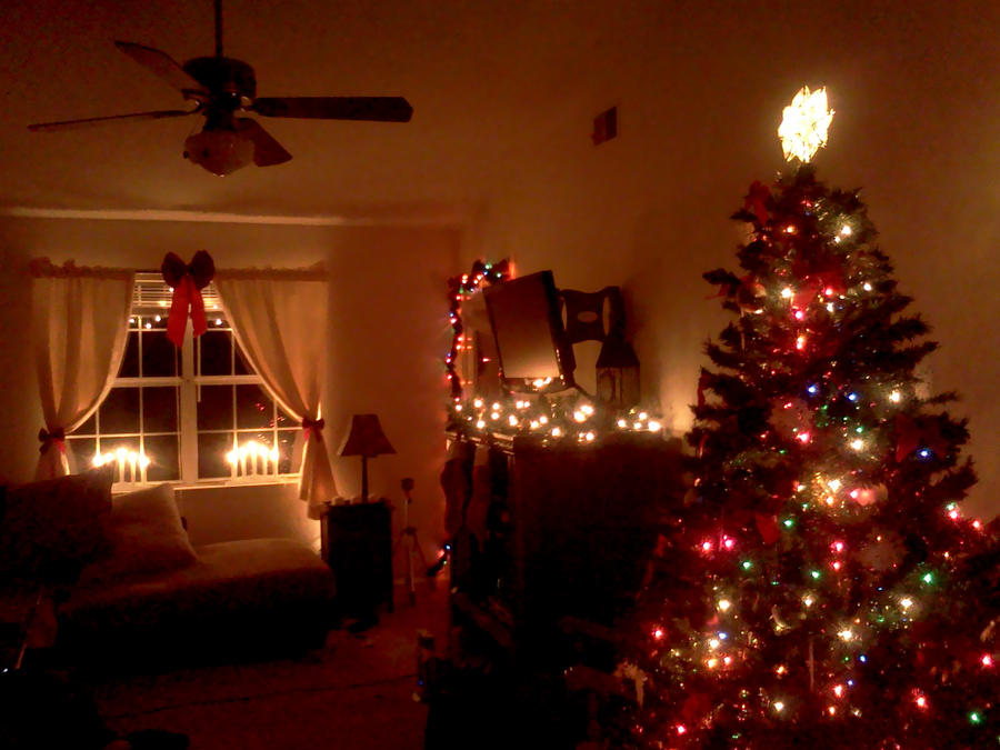 Decorating Ideas > Christmas Apartment By Agapelove490 On DeviantArt ~ 183800_Christmas Decorations Ideas For Small Apartment