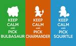 Keep Calm and Pick a Starter Wallpaper