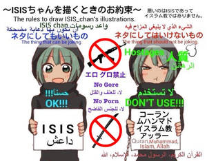 ISIS chan guidelines