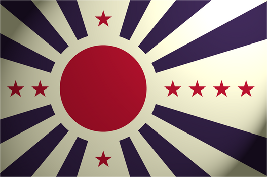 Japanese Pacific States Flag
