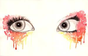Watercolour Eyes (1) by 13jellybean