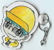 Morito Keychain + Bookmark by AnimeRascal