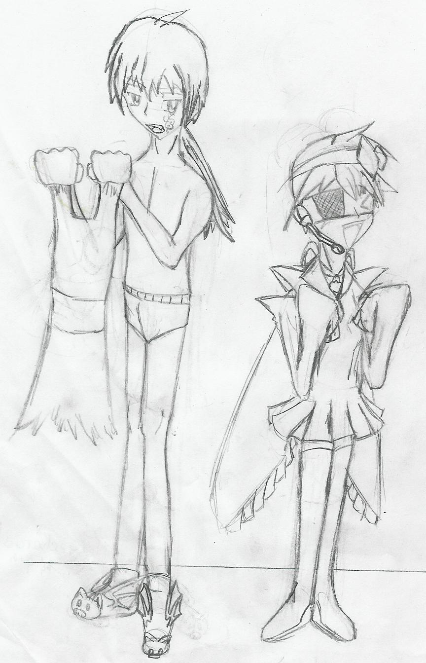 Zos Kias Dress Up -draft- by AnimeRascal