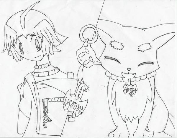 Light and Raijin- Charms by AnimeRascal