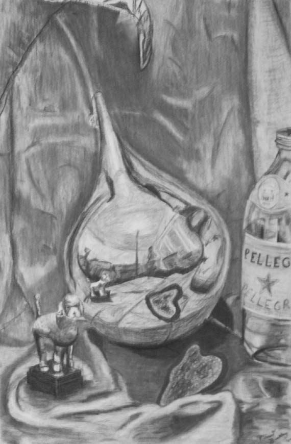 Still Life and Self Portrait by V85