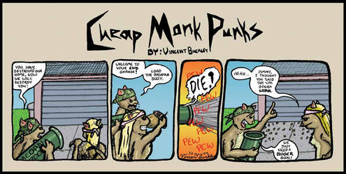 Cheap Monk Punks Strip 1 by V85