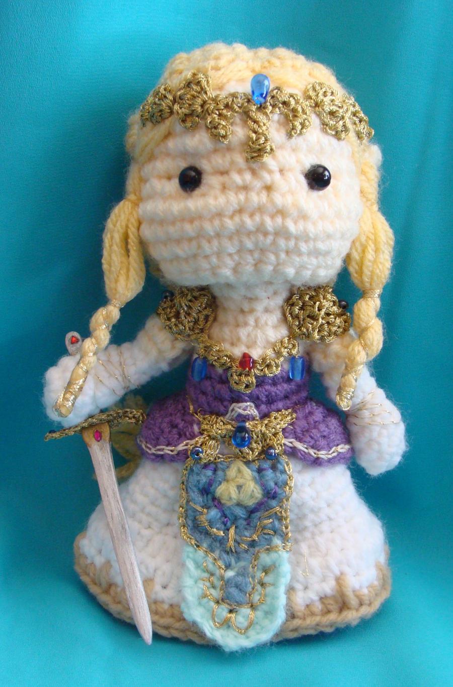 Amigurumi Magic Doll : Zelda amigurumi doll by Dragonlady92768 on DeviantArt