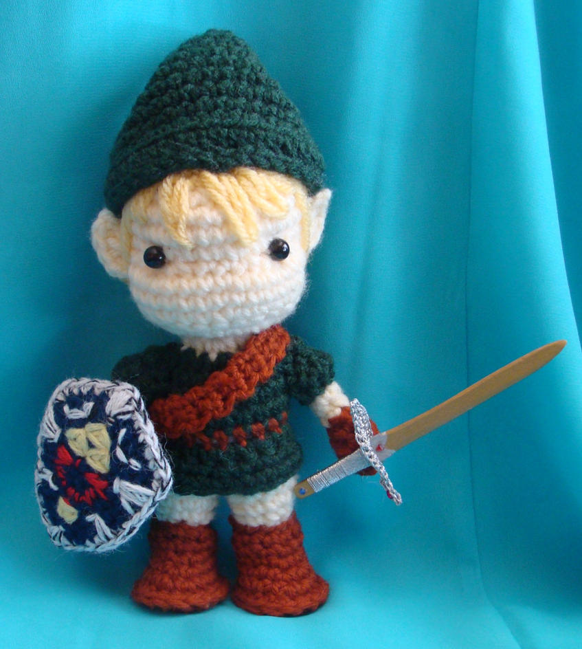 Amigurumi Link Pattern : Link amigurumi doll by Dragonlady92768 on DeviantArt