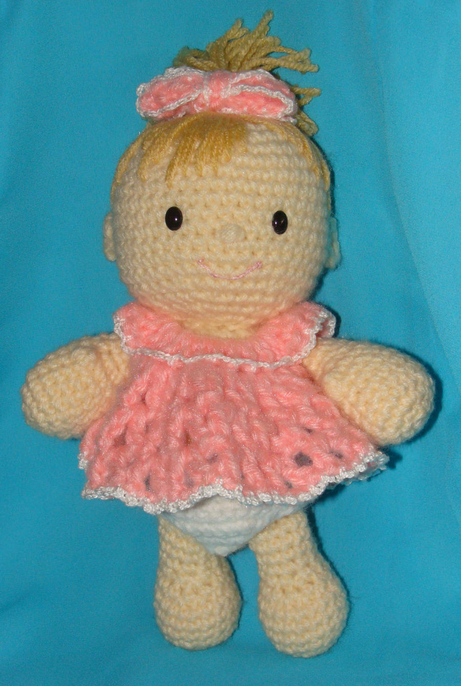 Nice Free Crochet Patterns For Baby Dolls Photo - Blanket Knitting ...