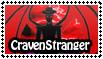 CravenStranger Stamp by EmeraldTokyo